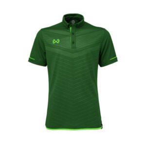 เสื้อโปโล WARRIX สีเขียว WA-3318N-GG