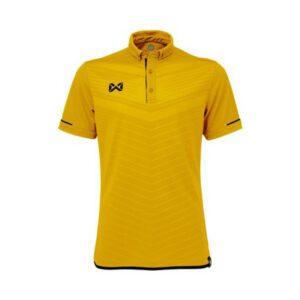 เสื้อโปโล WARRIX สีทอง-ดำ WA-3318N-NA