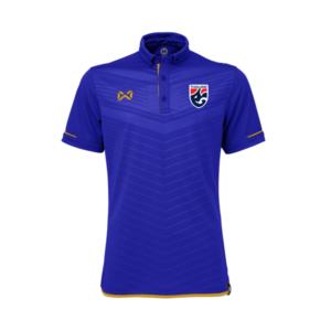 เสื้อโปโลช้างศึก ทีมชาติไทย สีน้ำเงิน-ทอง WA-3318NFTM2-BN
