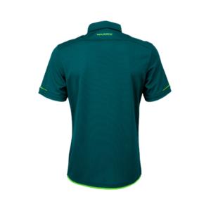เสื้อโปโลช้างศึก ทีมชาติไทย สีฟ้าน้ำทะเล-เขียวสะท้อน WA-3318NFTM2-IG