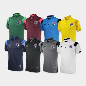 เสื้อโปโลช้างศึก ทีมชาติไทย รุ่น WA-3320FTM2 ( มี 8 สี )
