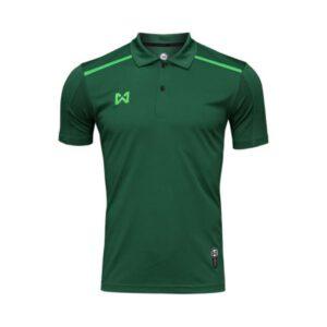 เสื้อโปโล Warrix สีเขียว WA-3321-GG