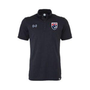 เสื้อโปโลช้างศึก ทีมชาติไทย สีดำ WA-3324FTM2-AA