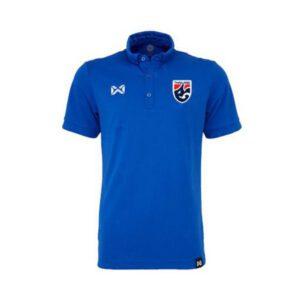 เสื้อโปโลช้างศึก ทีมชาติไทย สีน้ำเงิน WA-3324FTM2-BB