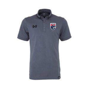 เสื้อโปโลช้างศึก ทีมชาติไทย สีเทา WA-3324FTM2-EE