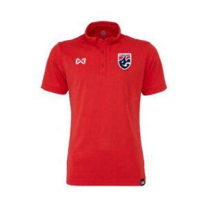 เสื้อโปโลช้างศึก ทีมชาติไทย สีแดง WA-3324FTM2-RR