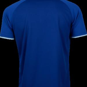 เสื้อโปโลเบสิคแขนสั้น Emboss สีน้ำเงิน WA-3327-BB