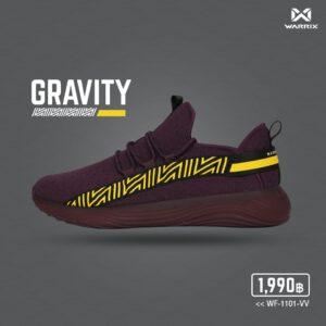 WARRIX รองเท้า Street Series 1 สีม่วง รุ่น Gravity WF-1101-VV