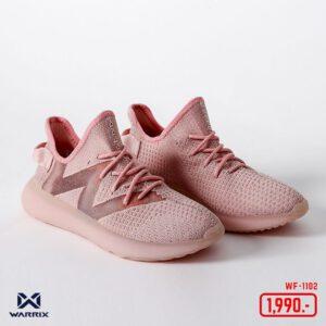 WARRIX รองเท้า Street Series 2 สีชมพู WF-1102-PP