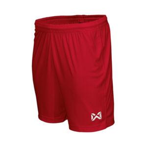 WARRIX กางเกงฟุตบอลเบสิค สีแดง WP-1509-RR