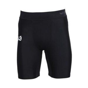 กางเกงรัดกล้ามเนื้อขาสั้น (ผู้ชาย) สีดำ WP-18FT01M1-AA