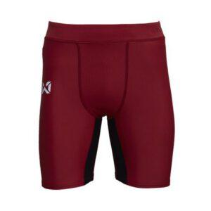 กางเกงรัดกล้ามเนื้อขาสั้น (ผู้ชาย) สีแดง-ดำ WP-18FT01M1-RA