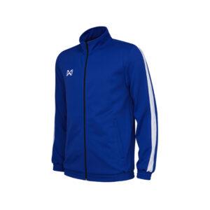 WARRIX เสื้อวอร์ม สีน้ำเงิน-ขาว รุ่น WA-1718-BW